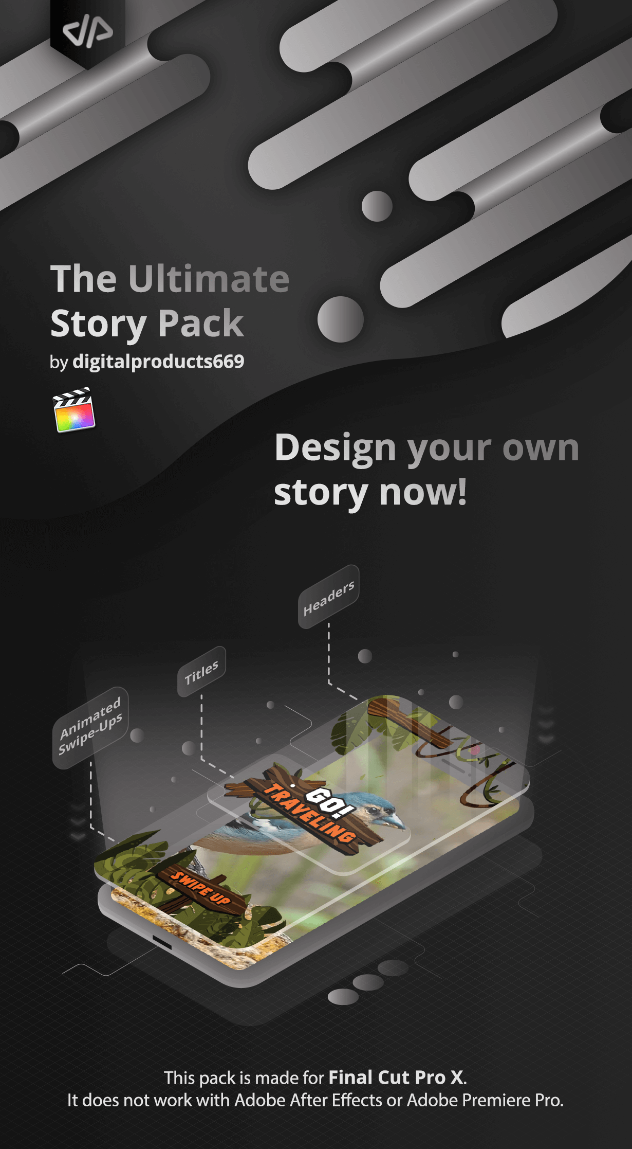 The Ultimate Story Pack - Final Cut Pro X & Apple Motion - 1